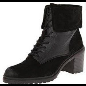 Kenneth Cole Lace Up Booties.